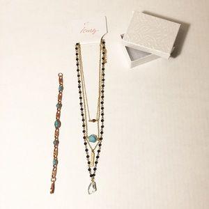 Lovely Necklace & Copper Bracelet NEW